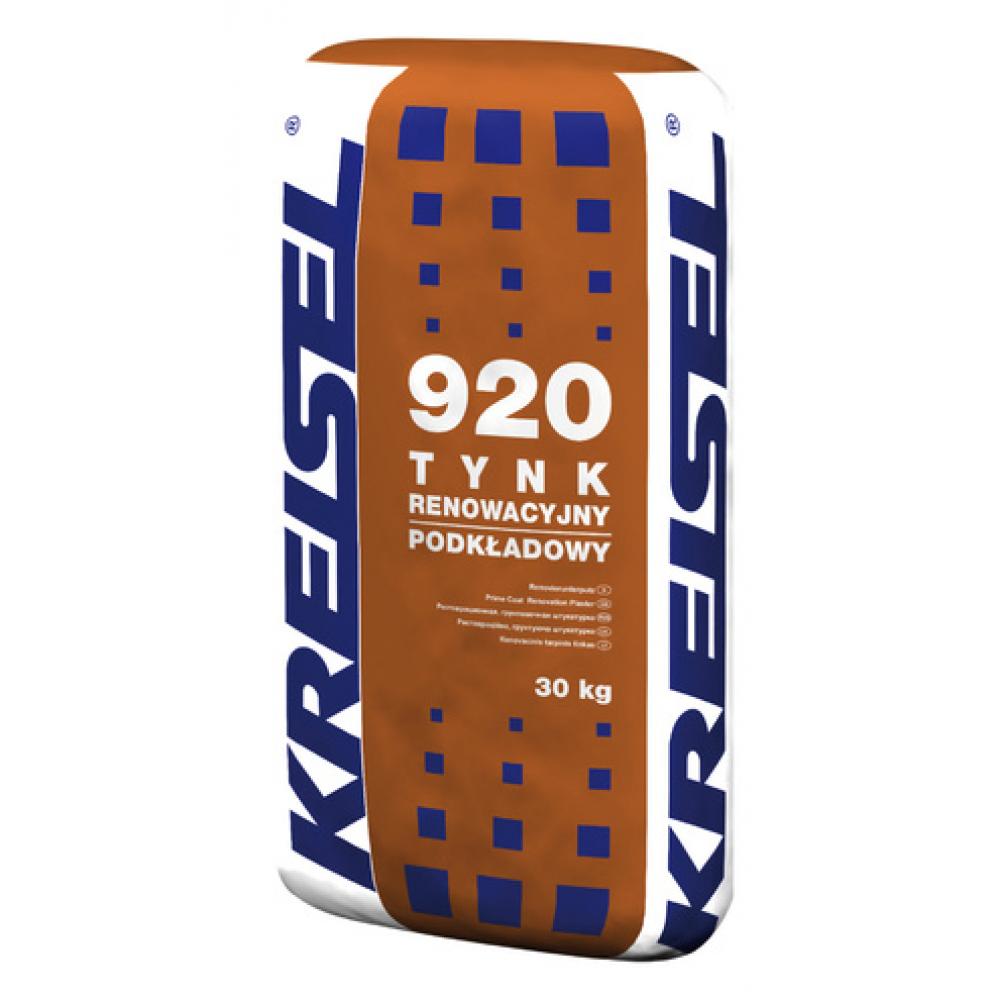 Реставрационная изветково-цементная шпаклевка TYNK RENOWACYJNY 920 Kreisel